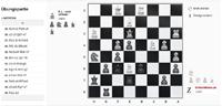 2D Schachspiel mit Glas