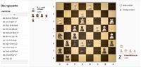 2D Schachspiel mit Holz