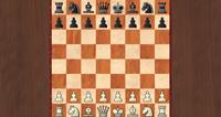 Fritz 13 Schachspiel auf Holz