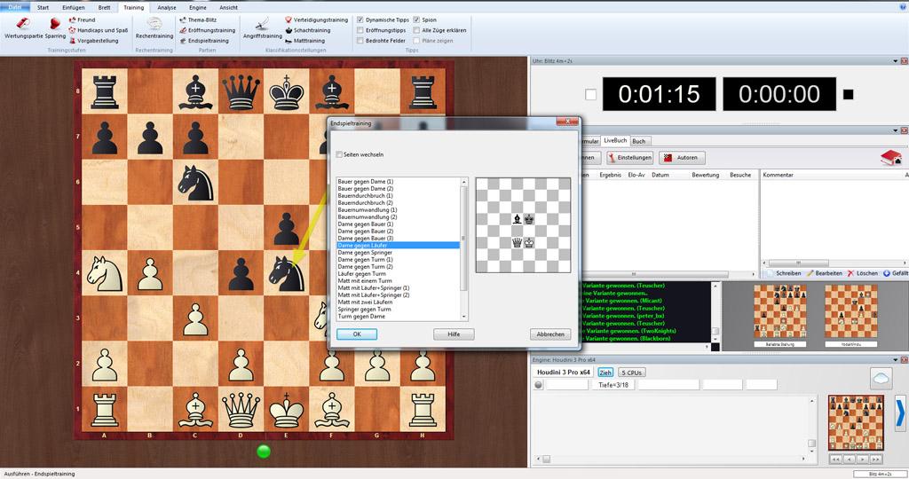 schach gegen computer spielen