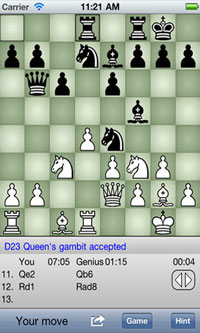Chess Genius für Ihr iPhone
