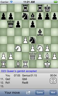 Chess Genius für Ihr iPhone
