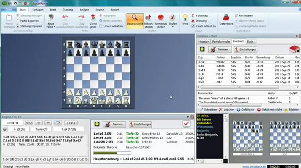Fritz 13 - das populärste Schachspiel Deutschlands