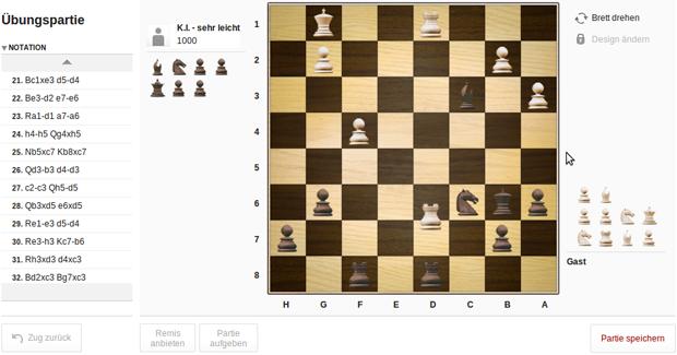 Schach spielen auf zeit.de