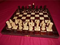 Draufsicht auf das Schachspiel Salomon von Albatros