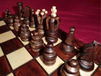 Figuren des Schachspiels Salomon von Albatros - Ansicht 1